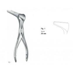Spéculum nasal Killian, 13 cm, fig. 1