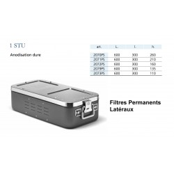 Conteneur Filtres Permanents Latéraux Taille 1