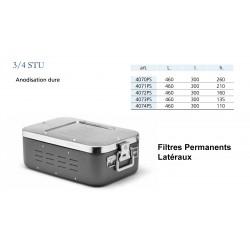 Conteneur Filtres Permanents Latéraux Taille 3/4