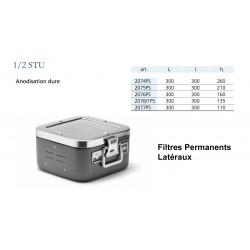 Conteneur Filtres Permanents Latéraux Taille 1/2