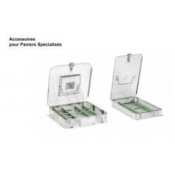 Accessoires pour paniers de stérilisation spécialisés, Support d'instruments en silicone
