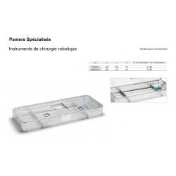 Paniers de stérilisation pour Instruments Chirurgie Robotique