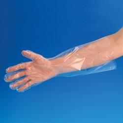Gants polyéthylène extra long non stérile
