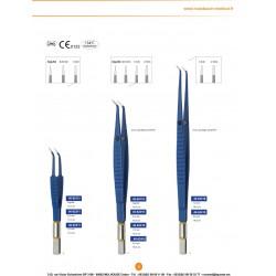 Brochure Pinces Bipolaires pour électrochirurgie haute fréquence distribuées par Nussbaum Médical