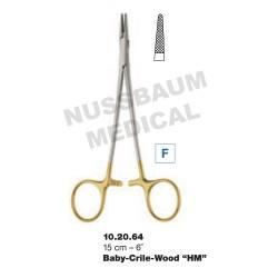 Porte-Aiguille Crile-Wood TC 15 cm pour chirurgie plastique