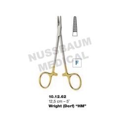 Porte-Aiguille Wright TC 12,5 cm pour chirurgie plastique