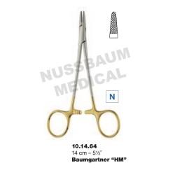 Porte-Aiguille Baumgartner TC 14 cm pour chirurgie plastique