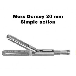 Inserts préhension, Mors Dorsey 20 mm, simple action