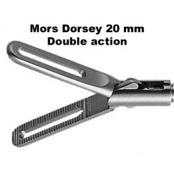 Inserts préhension, Mors Dorsey 20 mm, double action