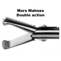 Inserts préhension, Mors Mahnes, double action