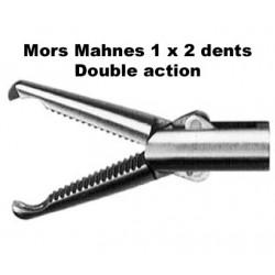 Inserts préhension, Mors Mahnes 1 x 2 dents, double action