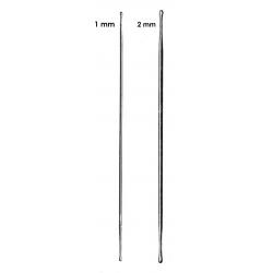 Stylets boutonnés diamètre 1 ou 2 mm